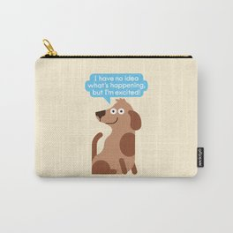 Pawsitive Thinking Carry-All Pouch