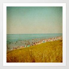 The Last Days of Summer Art Print