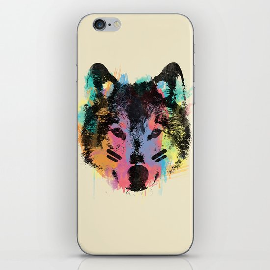 Wolf Child iPhone & iPod Skin