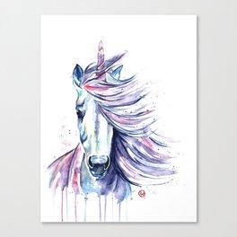 Unicorn - Gust Canvas Print