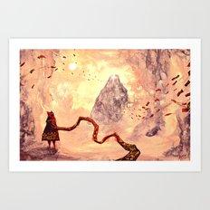 journey - atonement Art Print