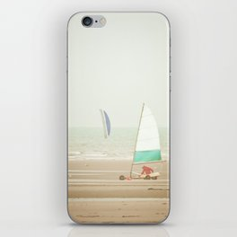 Land yacht beach iPhone Skin