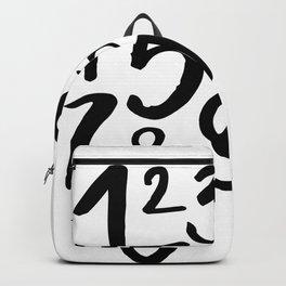 1 2 3 Backpack