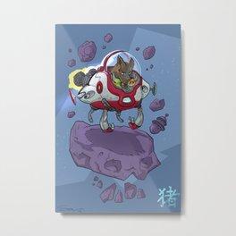 Astro Zodiac Force 12:  Boar Metal Print