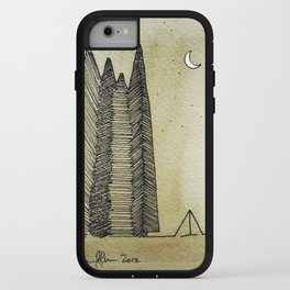 Big Woods Camping iPhone Case
