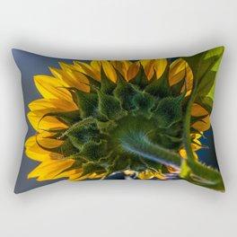 Backwards Sunflower Rectangular Pillow