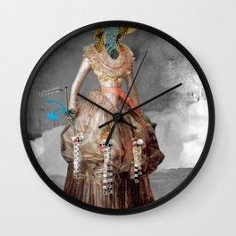 Goya -  Marquesa de Pontejos - Collage Wall Clock