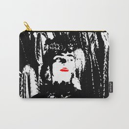 Freeda my Frida Black and White Carry-All Pouch