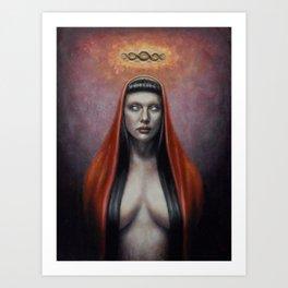 Hexe Art Print
