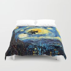 Young wizzard abstract art painting iPhone 4 4s 5 5c, ipod, ipad, pillow case, tshirt and mugs Duvet Cover