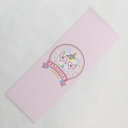 cat unicorn caticorn cute kids gift Yoga Mat