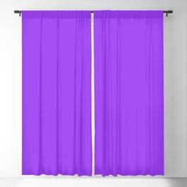 Bright Fluorescent Neon Purple Blackout Curtain