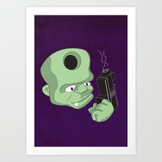 Bullet in the Head Art Print