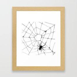 Spidey pattern Framed Art Print