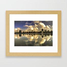 East Side Relections  Framed Art Print