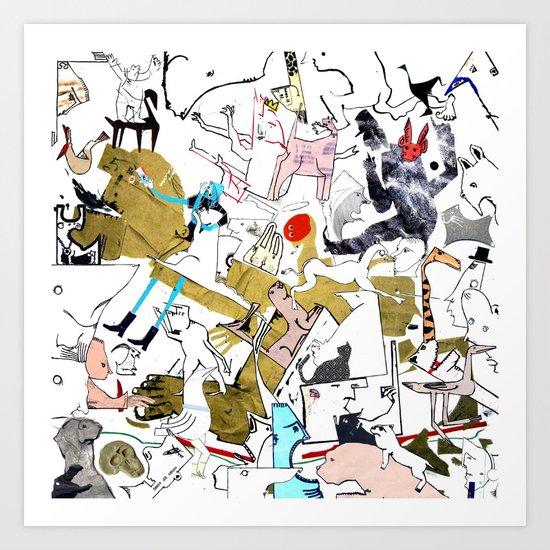 Untitled Inner Panel Art Print