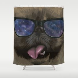 #HipsterPets Shower Curtain
