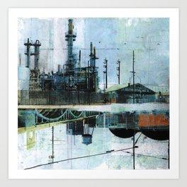 Steel Mecca Art Print