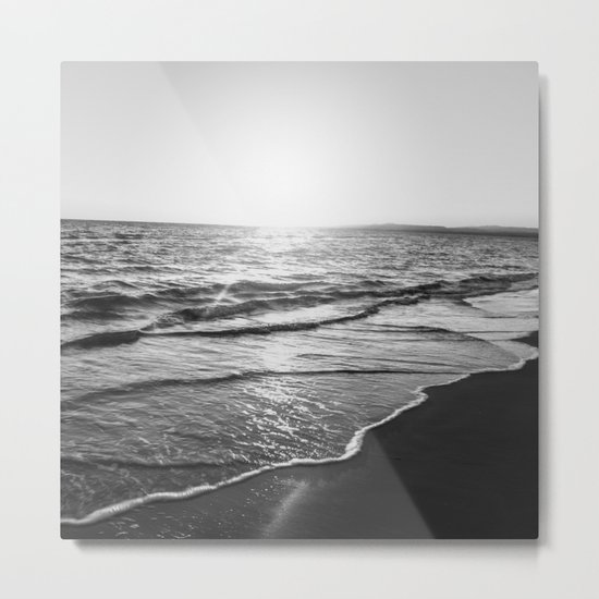 BEACH DAYS XIV Metal Print