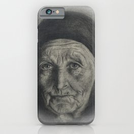 looking back to life iPhone Case
