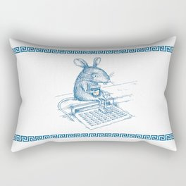 Cup O' Coffee NYC Style_rat Rectangular Pillow