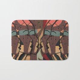African Tapestry Bath Mat