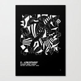 - cacophony - Canvas Print