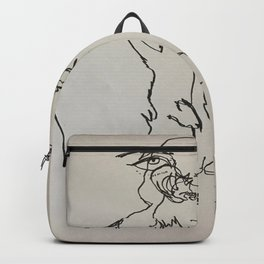 Blind Contour Subject Backpack