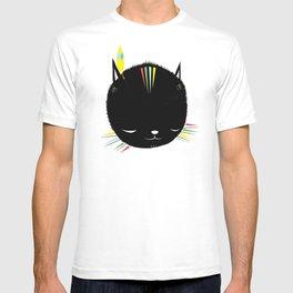 MIGHTY TIGARRR, BLACK KITTEN 묘 T-shirt