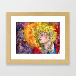 Adonais, Enjolras Framed Art Print