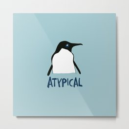 Atypical penguin Metal Print