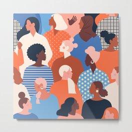 Diverse women Metal Print
