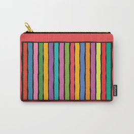 dp203-1 Colorful Stripes Carry-All Pouch