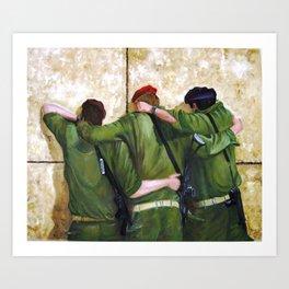 The Believers Art Print