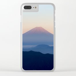 Mt. Fuji, Japan Clear iPhone Case