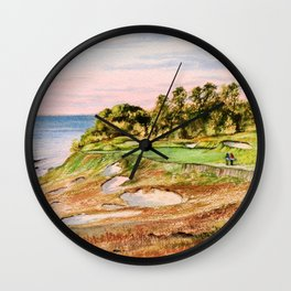 Whistling Straits Golf Course 17th hole Wall Clock