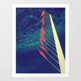 air flags Art Print