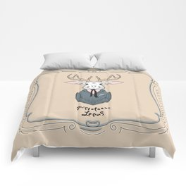 Epistolarus Lepus (almond) Comforters