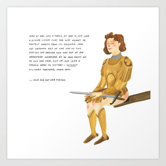 Joan of Arc Kunstdrucke