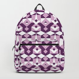 Lilac Pattern Backpack