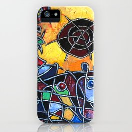 Abstraction #1 iPhone Case