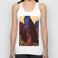 coco Tank Tops featuring Coco by Courtney Ladybug Johnson