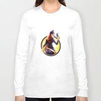 batgirl Long Sleeve T-shirts featuring Batgirl by kcspaghetti