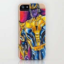 Thanos - Infinity War iPhone Case