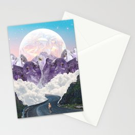 CRYSTAL MOUNTAIN TOPS Stationery Cards