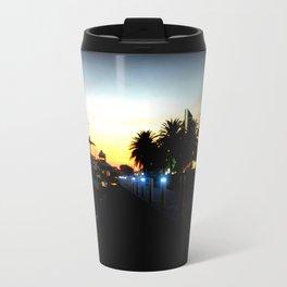 Night lights as Dusk settles over the Esplanade in Lakes Entrance - Australia Travel Mug