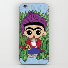 Frida in the Cacti 1 iPhone & iPod Skin
