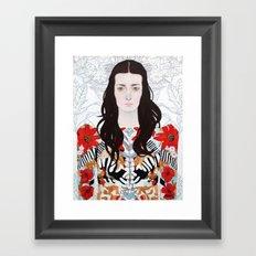 Angelene Framed Art Print