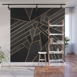 Black Night Wall Mural