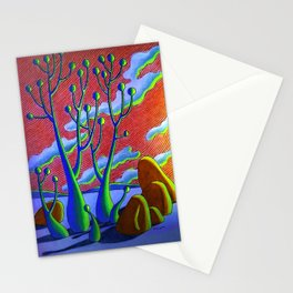 Rare plants Stationery Cards
